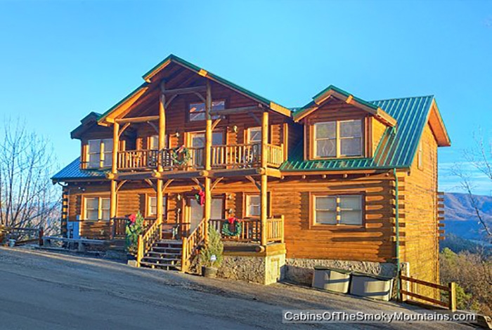 pigeon forge cabin dreaming above the clouds 8 bedroom 8 Bedroom Cabins In Gatlinburg