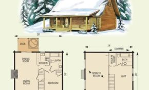 pin on cabin things Small Cabin Plans With Loft And Porch