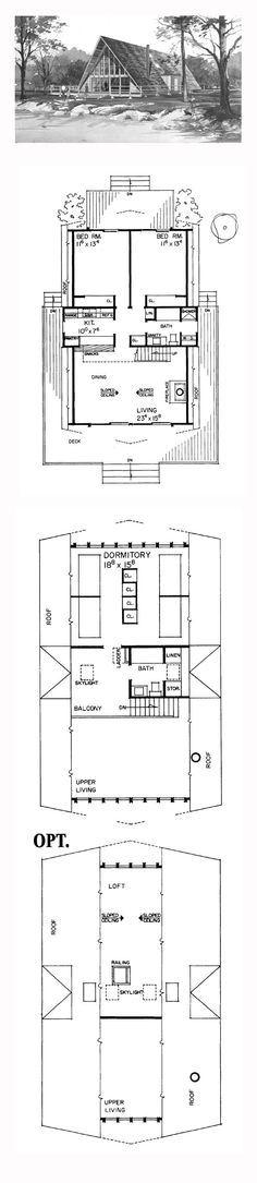 pinterest A Frame Cabin Floor Plans