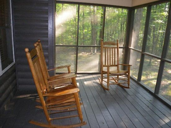 porch picture of cloudland canyon state park cabins Cloudland Canyon Cabins