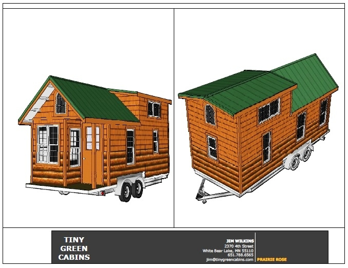 prairie rose pricing schedule tiny green cabins Tiny Green Cabins
