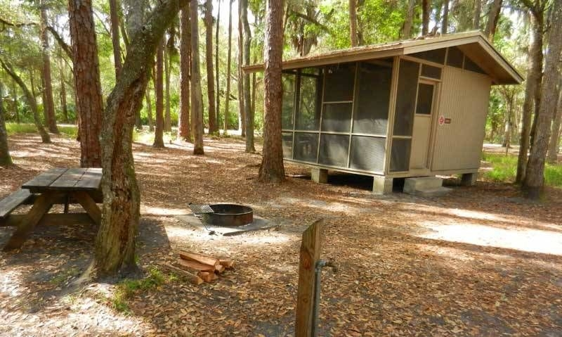rustic cabins at hontoon state park provide a more camping Cabin Camping In Florida