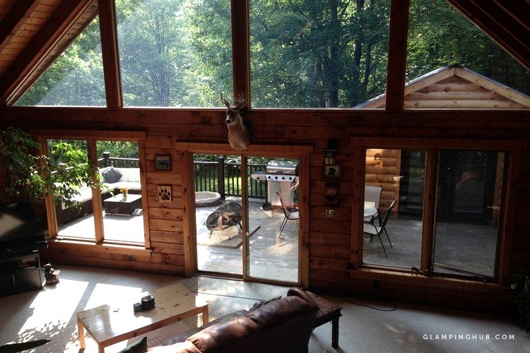 secluded cabin rental near letchworth state park in buffalo arcade new york Letchworth State Park Cabins