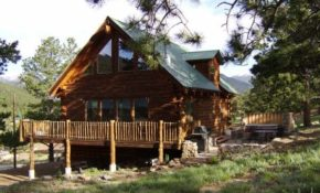 silver tree house mountain log home near rocky mountain national park estes park Rocky Mountain Cabins