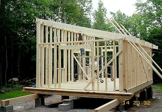 simple cabins built their owners Shed Roof Cabin Plans