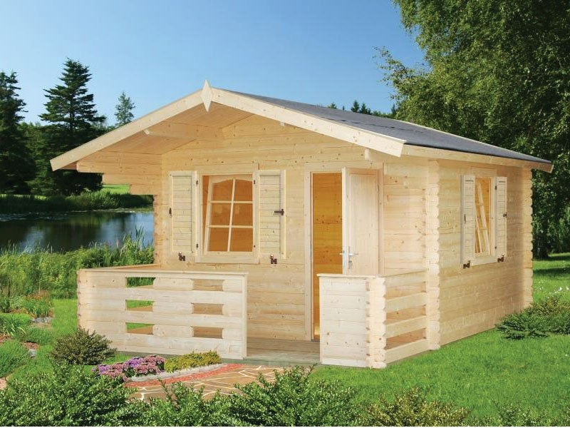 small backyard cabin kit cascade Backyard Cabin Kits