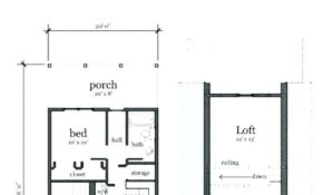 small cabin floor plans Small Cabin Plans Free