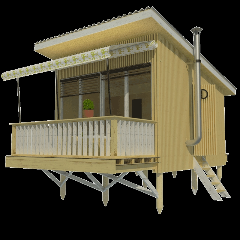 small house plans with shed roof louise Shed Roof Cabin Plans