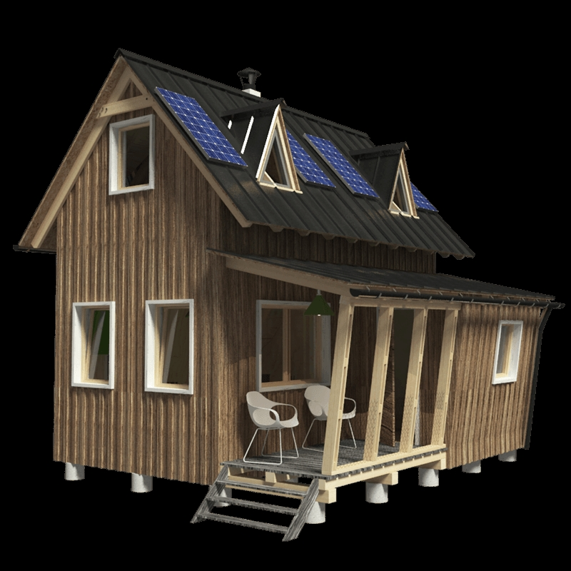 small two story house plans judy Two Story Cabin Plans