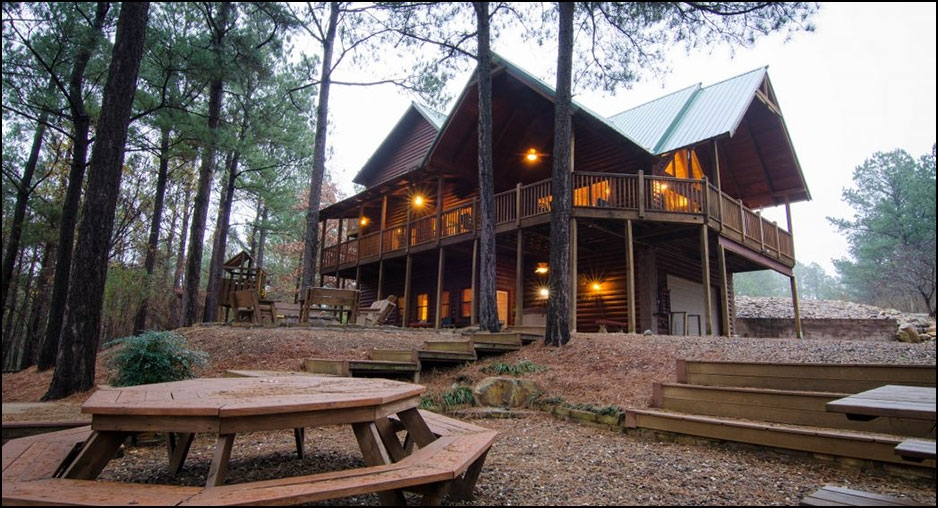 talako lodge cabin rentals beavers bend lodging Broken Bow Ok Cabins