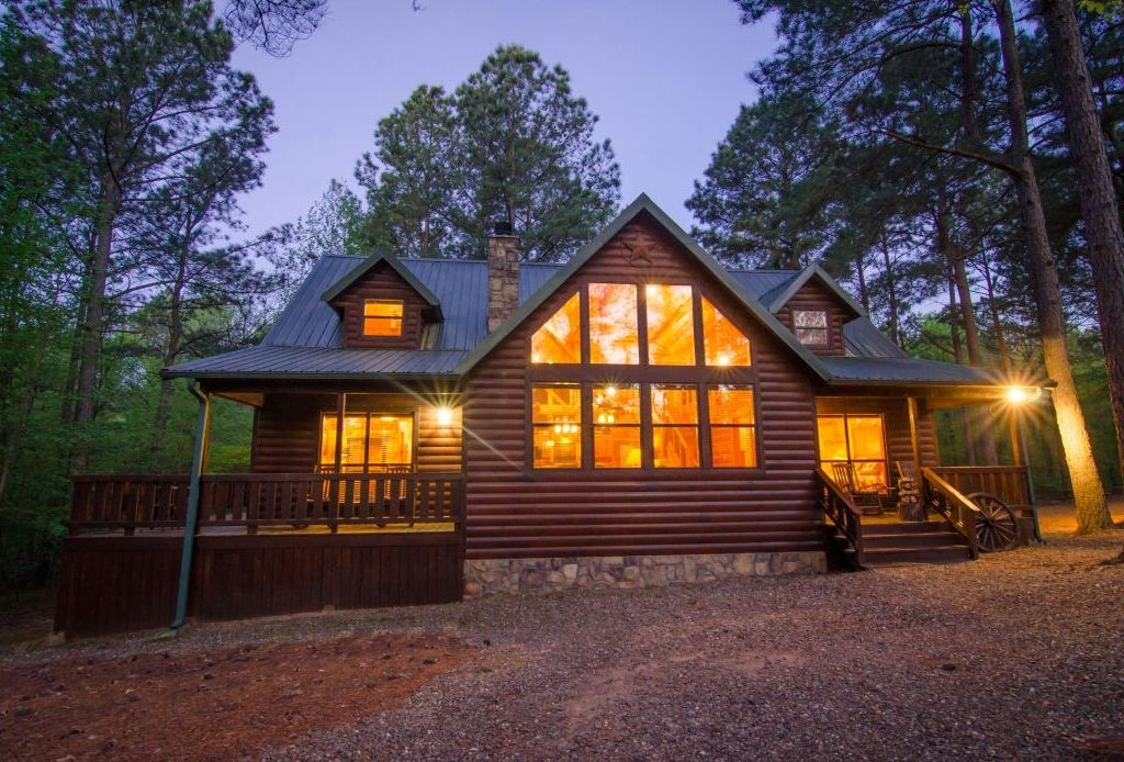 texas 2 step 3 bdrm high luxhot tub broken bow Cabins With Hot Tubs In Texas