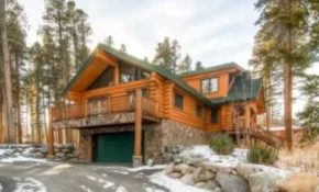 the bear cabin in breckenridge co 970 387 8017 log cabin vacation rental Breckenridge Colorado Cabins