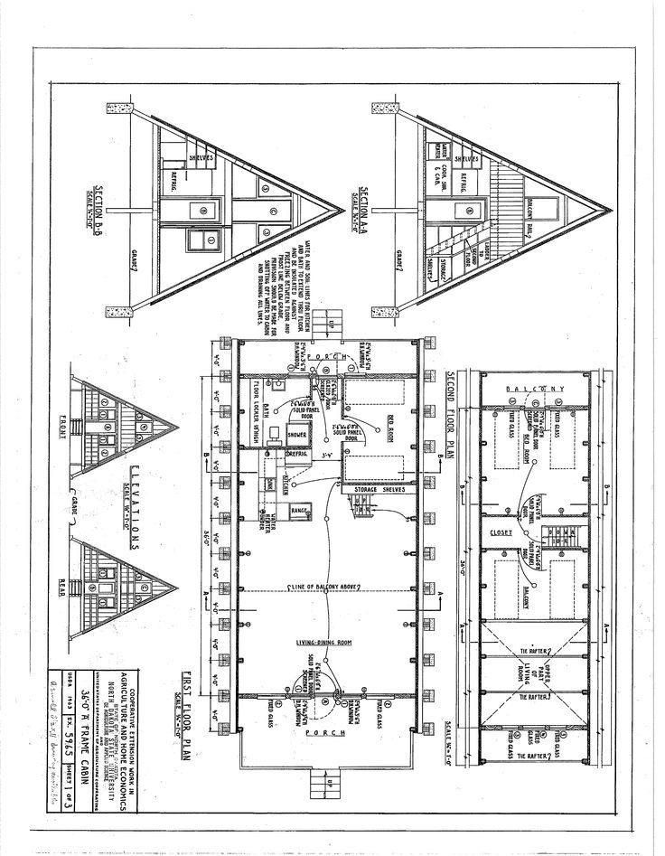 the floor plan for my a frame cabin architect in 2019 a A Frame Cabin Floor Plans