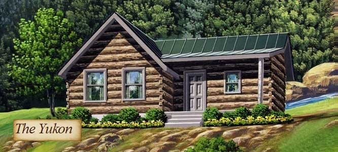 the yukon model log home from cabela Cabelas Home And Cabin