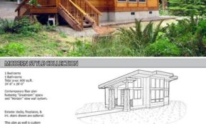 this great looking 600 sq ft home is a kit from pan 600 Square Foot Log Cabin