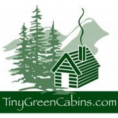 tiny green cabins tinygreencabins twitter Tiny Green Cabins
