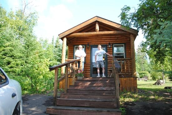 trailside cabins and motel prices campground reviews Grand Marais Cabins
