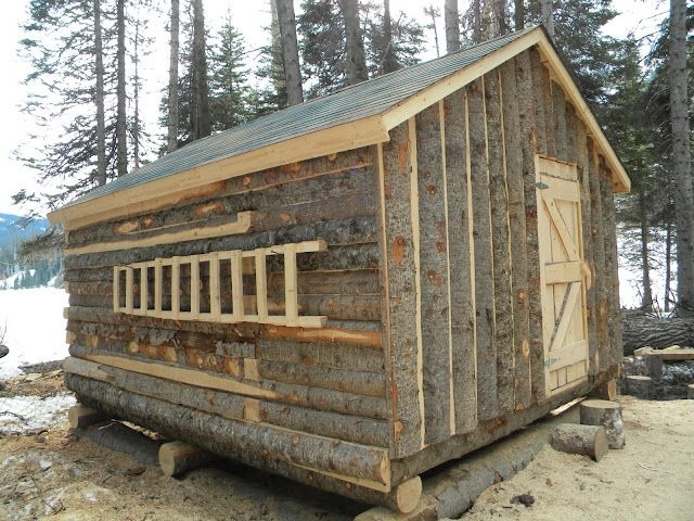 trappers cabin a northwoods cabin small log cabin diy Trapper Cabin Plans