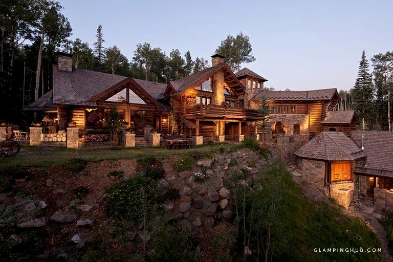 ultra luxury cabin rental with movie theater on resort in telluride colorado Luxury Cabins In Colorado