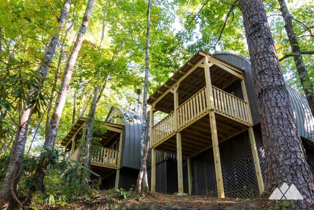 unicoi state park cabins review atlanta trails Anna Ruby Falls Cabins