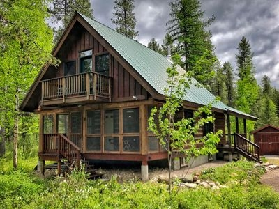 wonderful cabin near glacier national park west glacier Cabins Near Glacier National Park