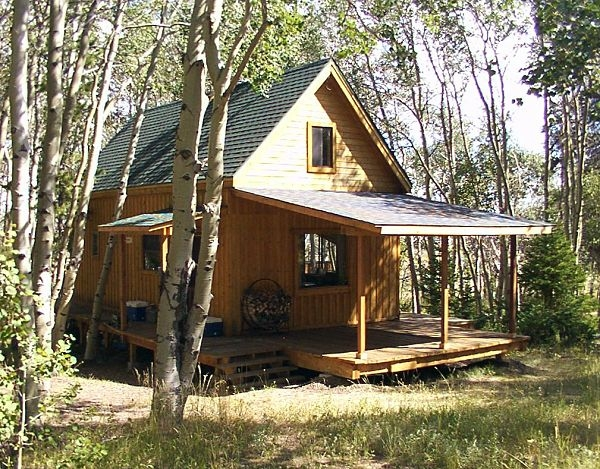 14 x 24 owner built cabin 14×24 Cabin With Loft