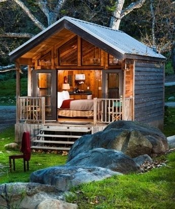15 amazing tiny homes house styles little cabin cabin Small Cabin Pictures