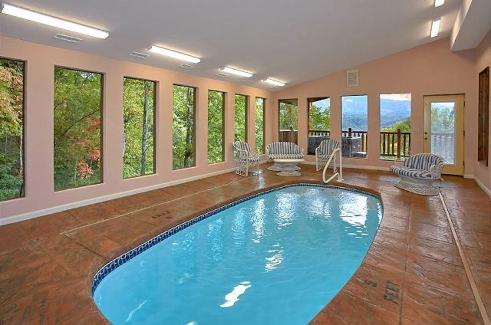 3 reasons to stay in a gatlinburg cabin with an indoor pool Cabins With Indoor Pools