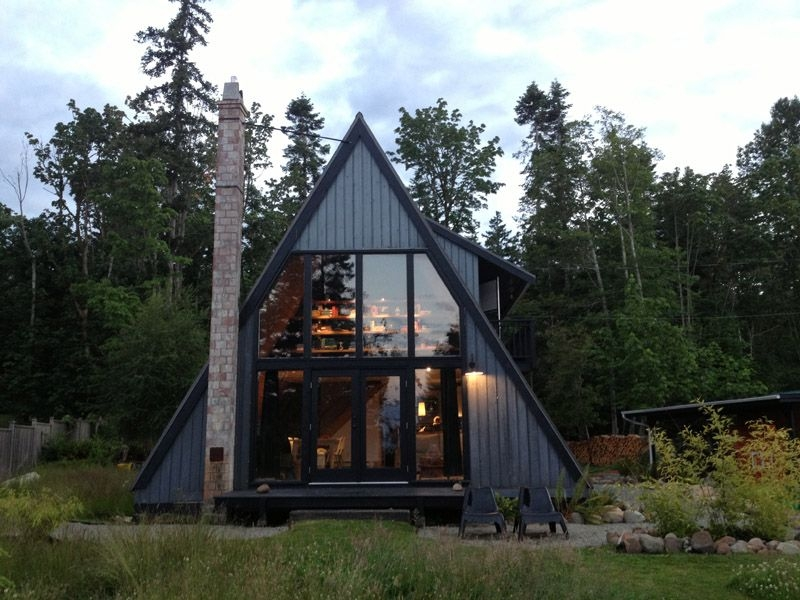 30 amazing tiny a frame houses that youll actually want to Small A Frame Cabin Plans