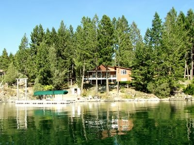4br house vacation rental in rollins montana 138697 Rollins Lake Cabins