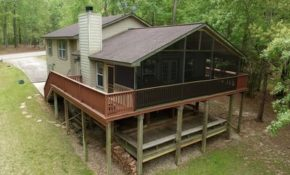 4br mobile home vacation rental in coldspring texas 119657 Sam Houston National Forest Cabins