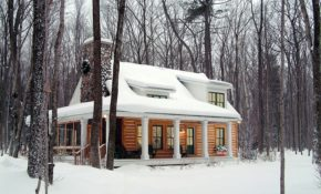 a family retreat blends cabin and cottage styles Cabins And Cottages