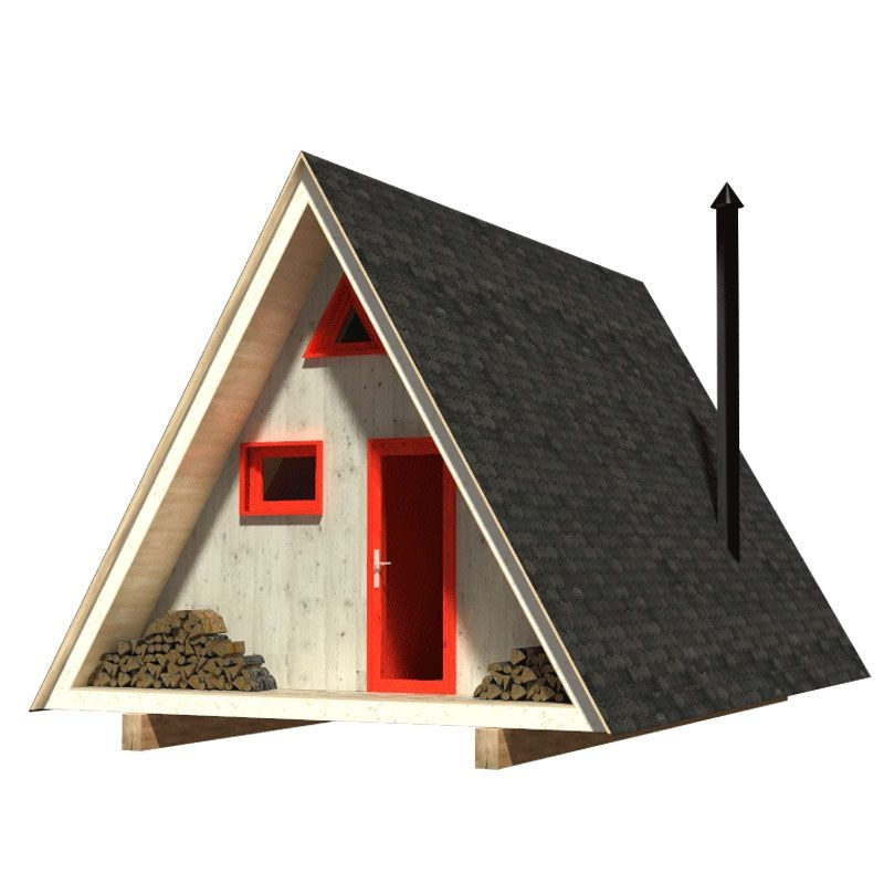 a frame cabin plans dolores Small A Frame Cabin Plans