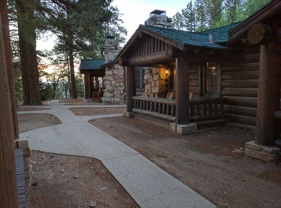 a typical western cabin picture of grand canyon lodge Cabins In Grand Canyon