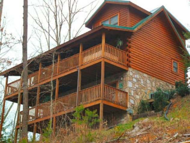 ahhhthe view log cabin black bear falls resort Log Cabins For Rent In Tennessee