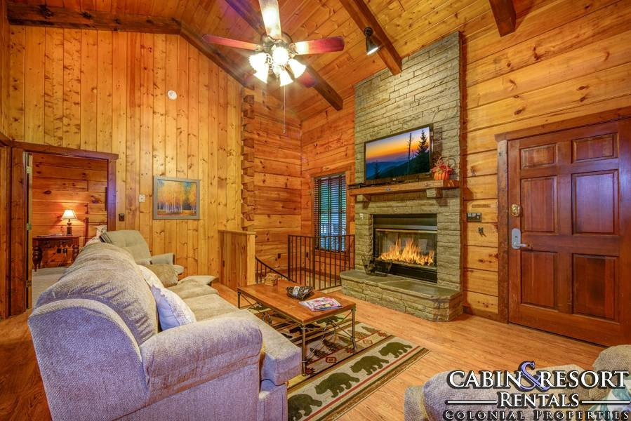 all in the family Sevierville Cabins