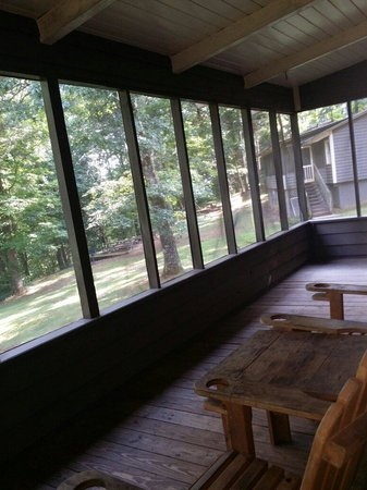 cabin balcony picture of amicalola falls lodge Amicalola Falls Cabins