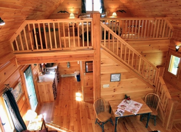 cabin loft Cabins With Lofts