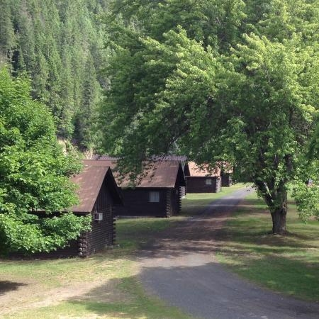 cabins along the river picture of three rivers resort Three Rivers Cabins