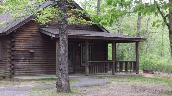 cabins at parvin park picture of parvin state park elmer Parvin State Park Cabins