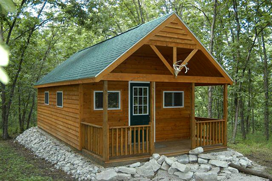 cabins van wyk wood builders 14×24 Cabin With Loft