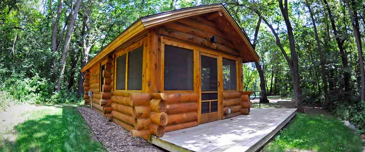 camping three rivers park district Three Rivers Cabins