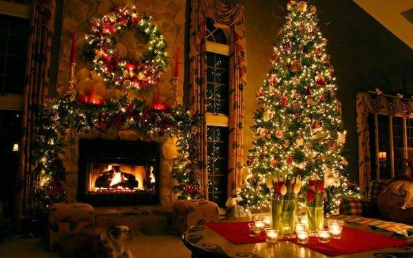 christmas decorating tips for log cabins pineca Cabin Christmas Decor