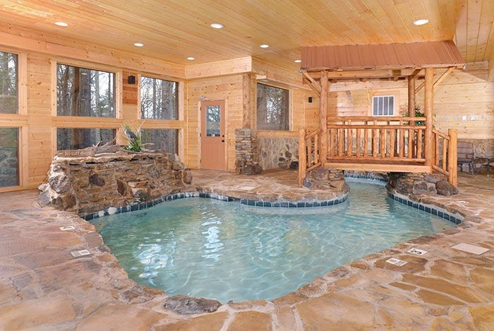 copper river pool pigeonforge tennessee cabin Gatlinburg Cabins With Indoor Pool