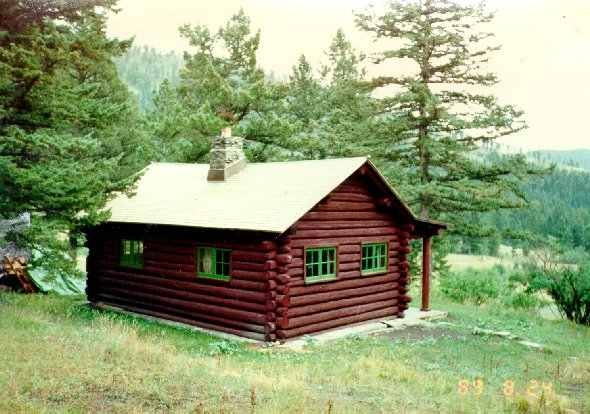 custer gallatin national forest battle ridge cabin Forest Service Cabins Mt