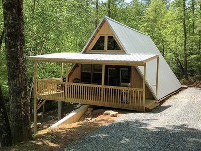 family mountain getaway 2 br2 ba secluded cabin easy access with wifi robbinsville Mountain Getaway Cabins