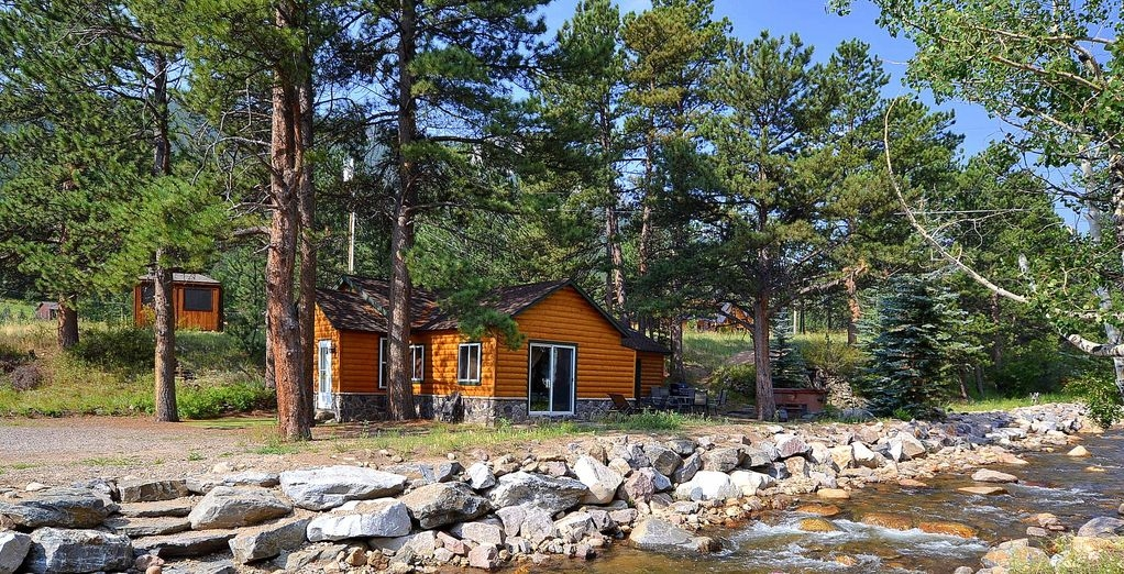 great river cabin mountain views hot tub 3 bdr2bath estes park Cabins In Estes Park Co