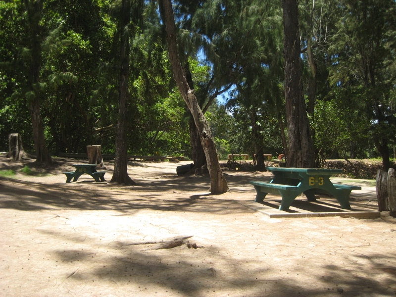 hawaii camping reservation reservations Malaekahana Cabins