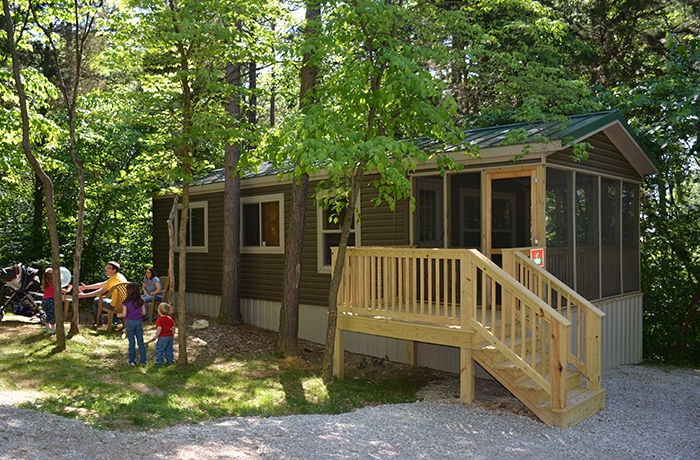 holiday cottages lake rudolph campground rv resort Lake Rudolph Cabins