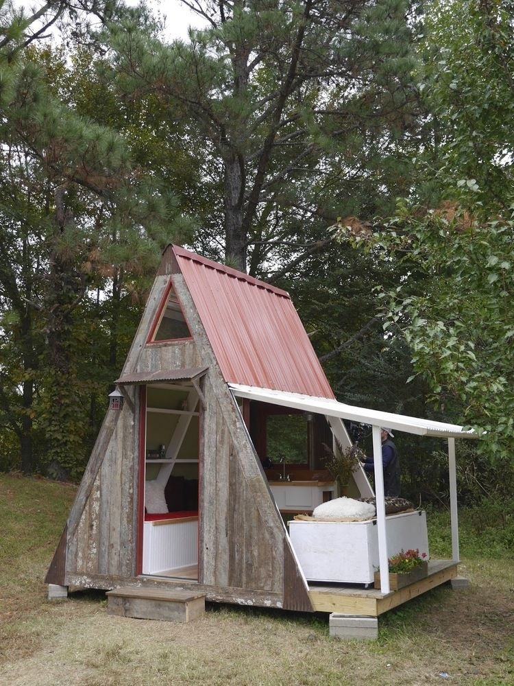 inexpensive customizable cabins a frame cabin Inexpensive Cabins